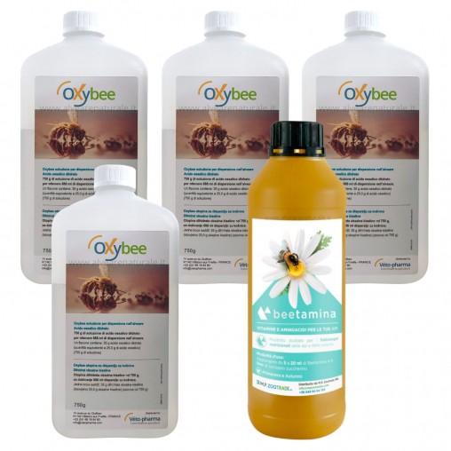 4 Oxybee + 1 Beetamina